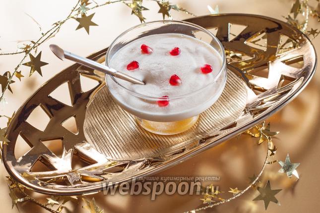 Фото Яичный крем-десерт с маракуйей