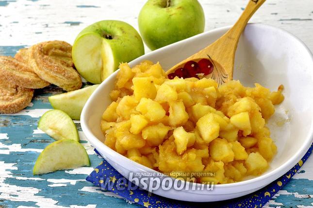 Фото Яблочная начинка для пирожков