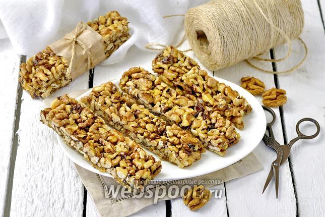 Фото Козинаки из грецких орехов