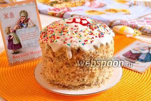 Торт «Кулич»