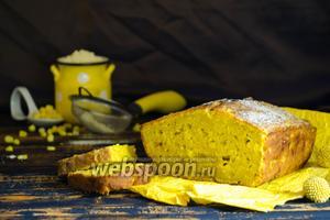 Кукурузный кекс с пармезаном