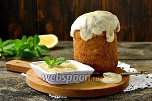 Масляная глазурь для торта