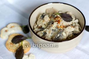 Филе индейки в сметанном соусе