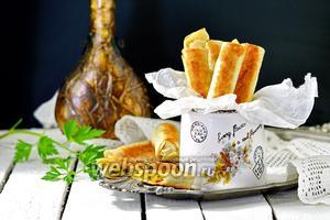 Сырные палочки из лаваша