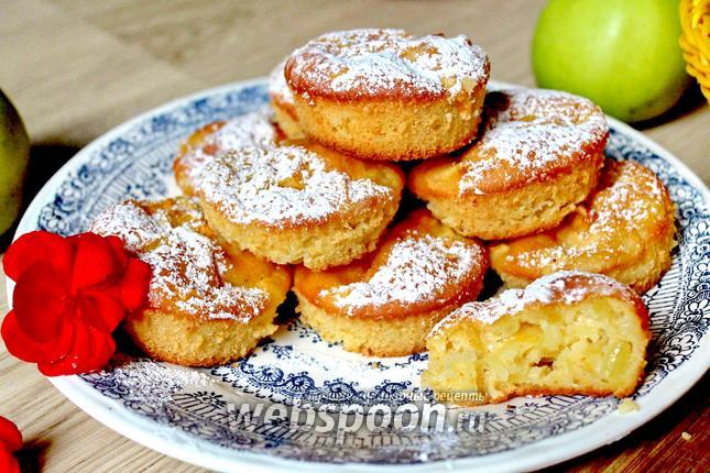 Фото Маффины с яблоками