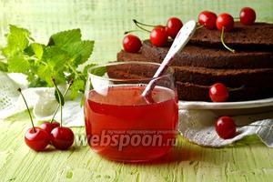 Вишнёвая пропитка для торта