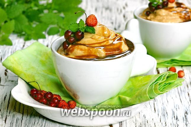 Фото Десерт «Творожное крем-брюле»