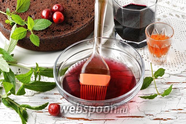 Фото Пропитка из варенья для бисквитных коржей