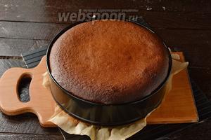 Выпекать в предварительно разогретой до 170°С духовке 1 час. Охладить. Перед подачей пирог должен вызреть в холодильнике минимум 8 часов.