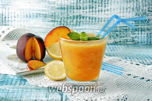 Фото Персиковый лимонад