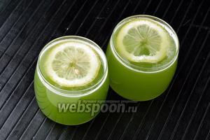 Огуречный лимонад готов.