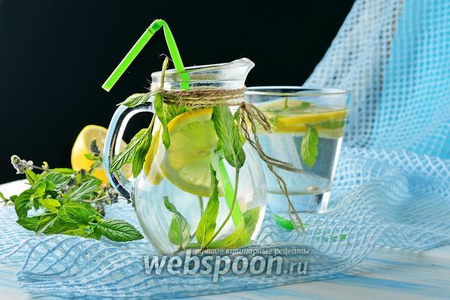 Фото Мятный лимонад