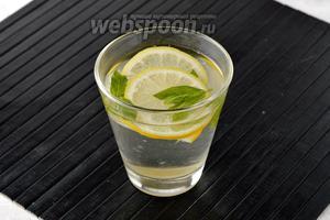 Мятный лимонад готов.