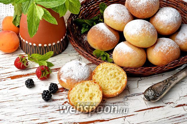 Фото Творожные пончики в духовке