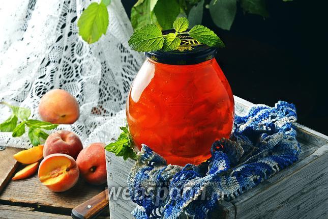 Фото Варенье из персиков в мультиварке