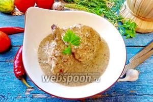 Сациви из курицы по грузински
