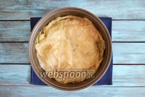 Домляма с бараниной, приготовленная в мультиварке, готова.