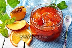 Варенье из нектаринов с апельсинами