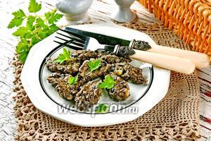 Клёцки из грибов