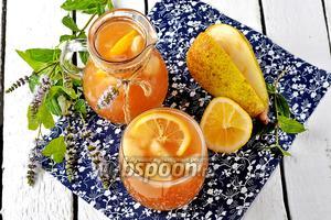 Грушевый лимонад