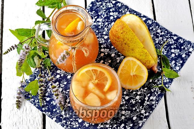 Фото Грушевый лимонад