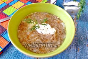 Суп Груздянка из свежих груздей