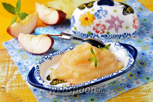 Фото Яблочное пюре для детей