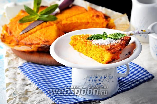 Фото Творожная запеканка с морковью в духовке