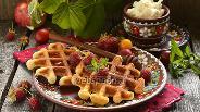 Фото рецепта Толстые вафли «Капучино»