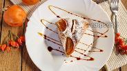 Фото рецепта Пирог с хурмой