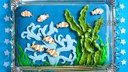 Фото рецепта Торт «Морское дно»