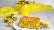 Фото рецепта Пирог с горохом