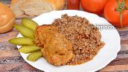Фото рецепта Рубленые котлеты из свинины с сыром