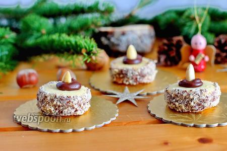 Печенье «Ореховые тортики»