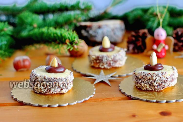 Фото Печенье «Ореховые тортики»
