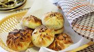 Фото рецепта Самса с грибами и картофелем