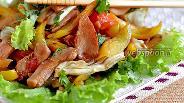 Фото рецепта Тёплый салат из куриного филе по-тайски