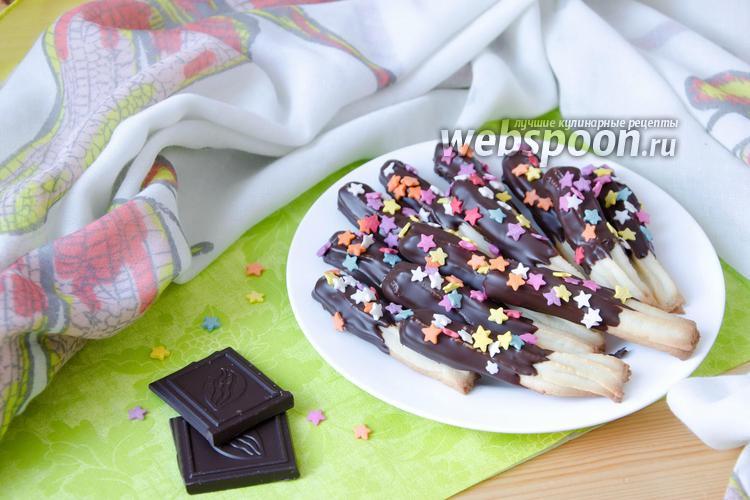 Фото Шоколадные палочки
