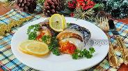 Фото рецепта Рулеты из скумбрии