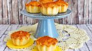 Фото рецепта Миндальное пирожное (Mazarin)