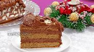 Фото рецепта Кофейный торт с шоколадным кремом