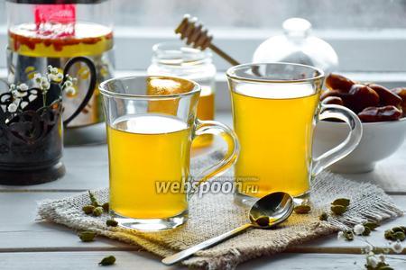 Финиковый чай с годжи