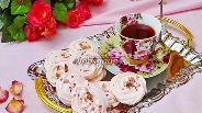 Фото рецепта Безе розовое