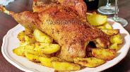 Фото рецепта Утка с картофелем