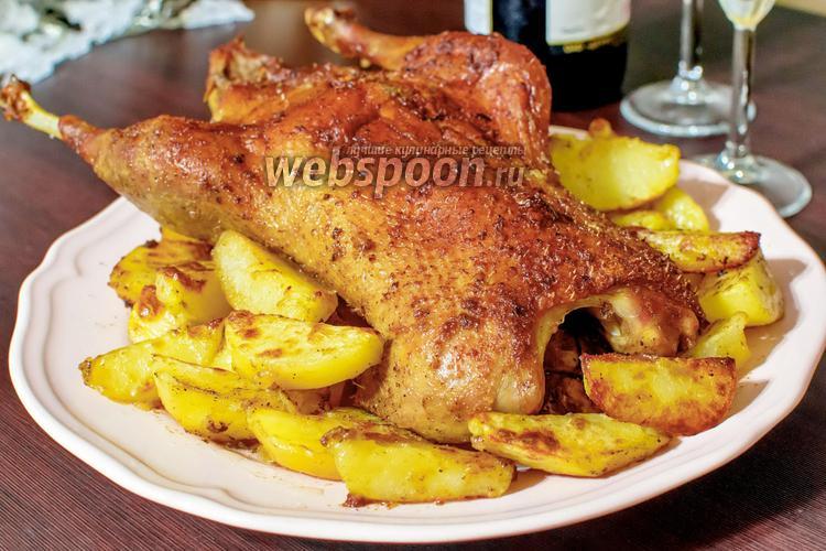 Фото Утка с картофелем