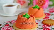 Фото рецепта Муссовые пирожные с бобами тонка