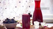 Фото рецепта Морс из чёрной смородины