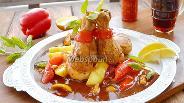 Фото рецепта Курица в остро-сладком соусе