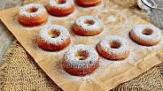 Фото рецепта Пончики на молоке в духовке