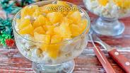 Фото рецепта Салат с курицей и апельсином